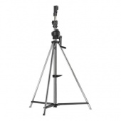 KUPO Heavy Duty Wind-up Stell Stand w/Casters Lighting Stand, стойка на колесах с торозами